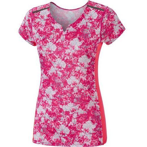 koszulka sportowa premium aero tee diva pink griffin s marki Mizuno