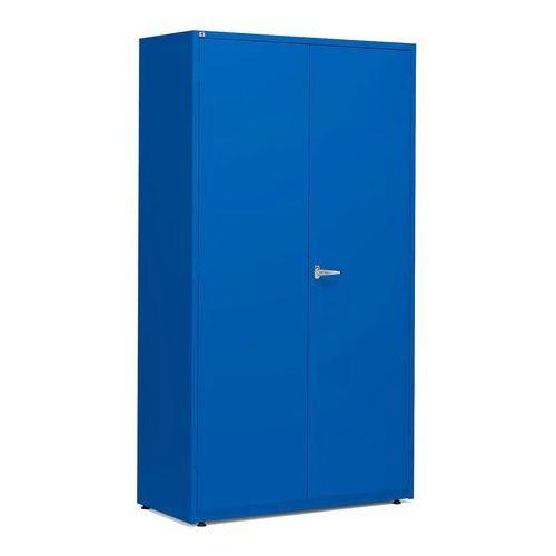 Aj produkty Szafa warsztatowa, 1900x1020x500 mm, niebieski