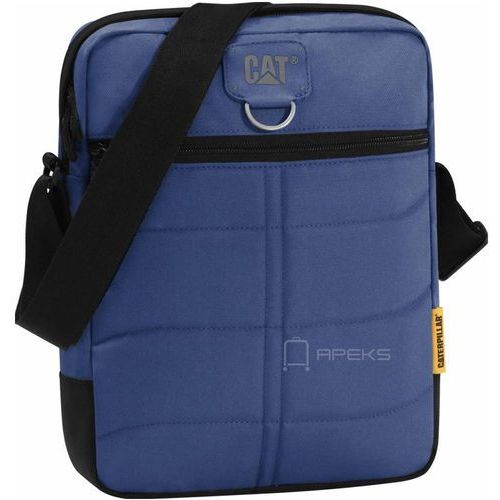 "ryan torba na ramię cat / tablet 10"" / navy blue - navy blue marki Caterpillar"