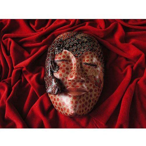 Dekoracyjny prezent rzeźba egzotyczna maska słowa marki Wyspa bali