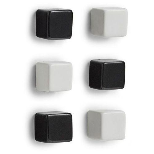 Magnesy do notatek cubes - 6 sztuk w komplecie, marki Zeller