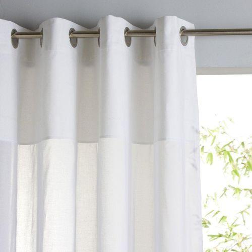 Firanka z czystej bawełny z przelotkami osmain marki La redoute interieurs