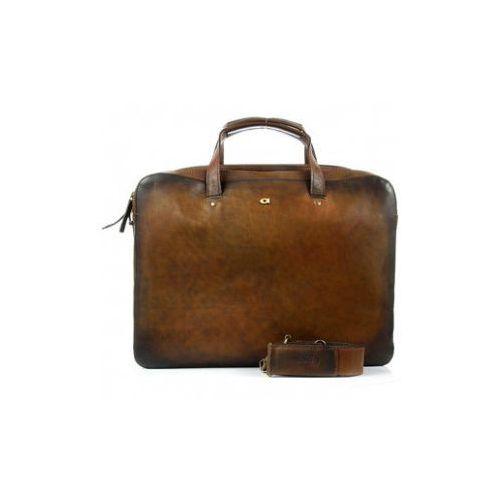 ALIVE 18 torba skóra naturalna firmy Daag na ramię i do ręki z miejscem na notebook unisex