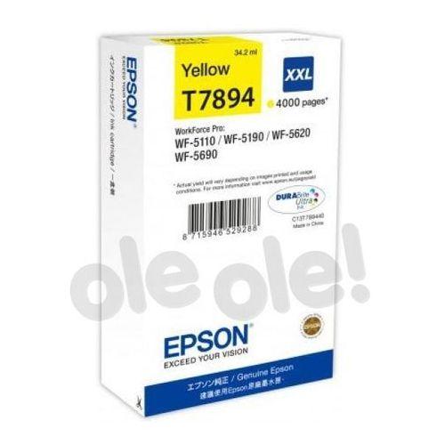 t7894 yellow 34,2 ml 4000 str. (c13t789440) marki Epson