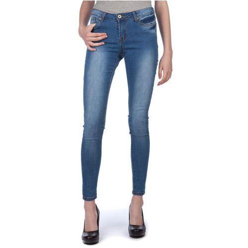 Brave soul  jeansy damskie ritadenr1 s niebieski