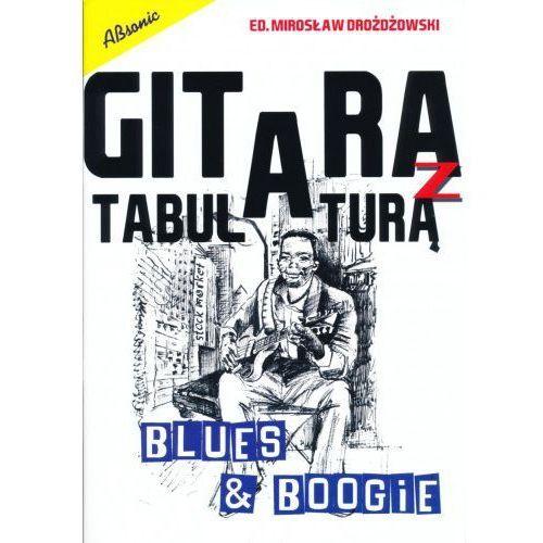 AN Drożdżowski Mirosław ″Gitara z tabulaturą Blues & Boogie″ książka