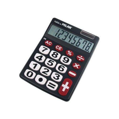 Kalkulator 8 pozycji duże klawisze czarny 151708BL (8411574012023)