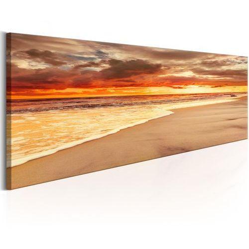 Obraz - Plaża: Piękny zachód słońca