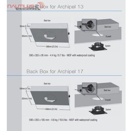 back box for archipel 13 & 17 - dostawa 0zł! marki Cabasse