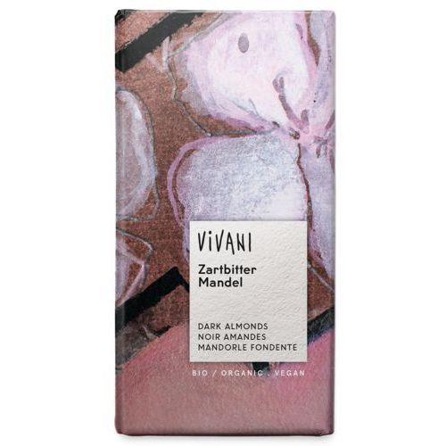 Vivani (czekolady, kakao instant) Czekolada gorzka z migdałami bio 100 g - vivani (4044889003208)