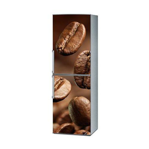Mata magnetyczna na lodówkę - ogromne ziarna kawy 4194 marki Stikero