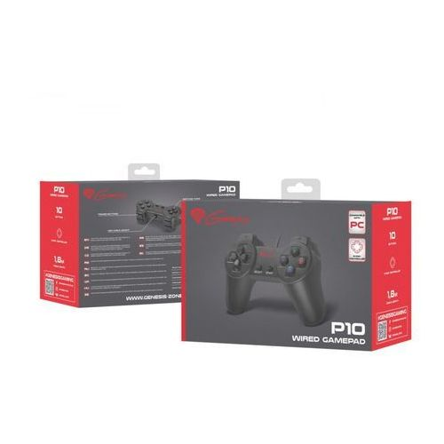 Gamepad GENESIS P10 (PC) (5908257126366)