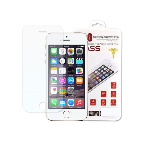 Apple iPhone 5 / 5S - szkło hartowane, FOAP009TEGL000000