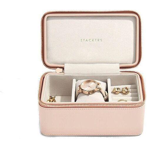 Stackers Pudełko podróżne na biżuterię i zegarek blush