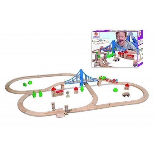Simba Kolejka tor z mostem, 55 elementów