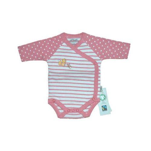 body dziecięce fairtrade wiewiórka, różowy marki Ebi & ebi
