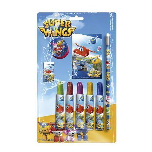 Zestaw przyborów szkolnych – 9 elementów Super Wings