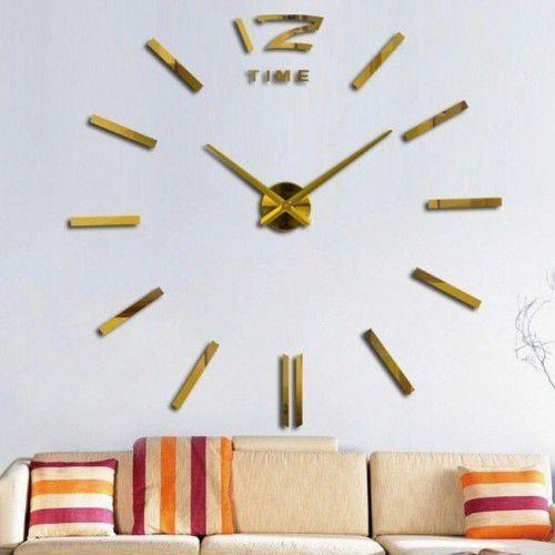 """Zegar ścienny """"zrób to sam"""" #01g4 złoty/315mm marki Atrix"""
