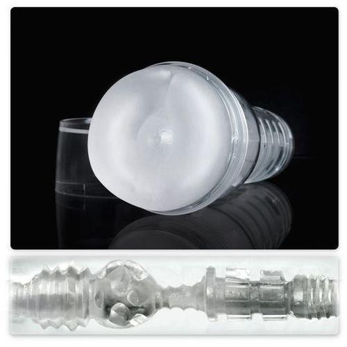 Ice Butt Crystal Fleshlight - Przezroczysty otwór analny - 5 milionów sprzedanych! - produkt z kategorii- Wtyczki i korki analne