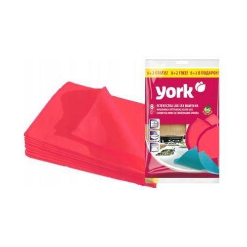 Ściereczka YORK Lux 020340 (10 sztuk) Różowy (5903355121251)