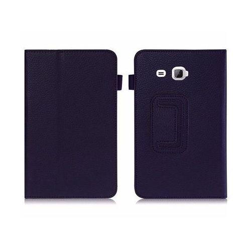 Etui STAND COVER Galaxy Tab A 7.0 T280, T285 Granatowe - Granatowy, kolor Granatowy