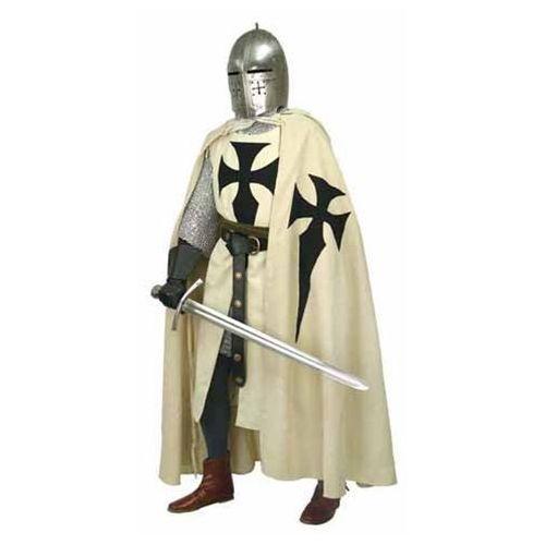 Długa peleryna rycerza teutońskiego (ws100872) marki Płatnerze