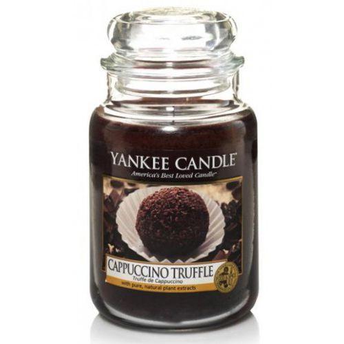 Świeca yankee candle - cappuccino truffle / czekoladowe cappuccino 623g marki Stara mydlarnia
