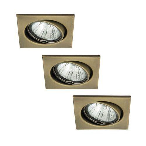 Rabalux 1135 - set 3x oprawa spot light 3xgu10/50w/230v (5998250311357)