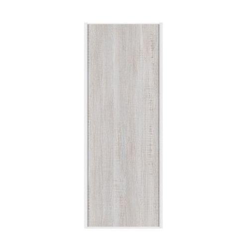 Drzwi przesuwne do szafy sosna bielona 67 cm marki Spaceo