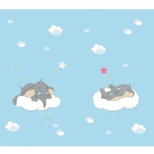 AG design zasłona Dumbo w chmurach, 180 x 160 cm, 2 szt.
