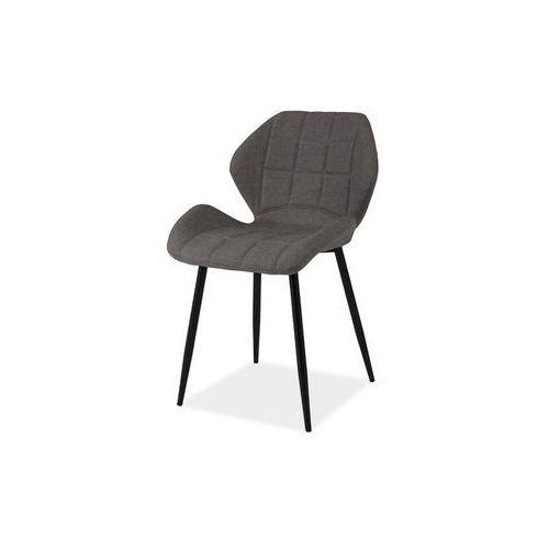 Krzesło hals szary materiał marki Signal meble