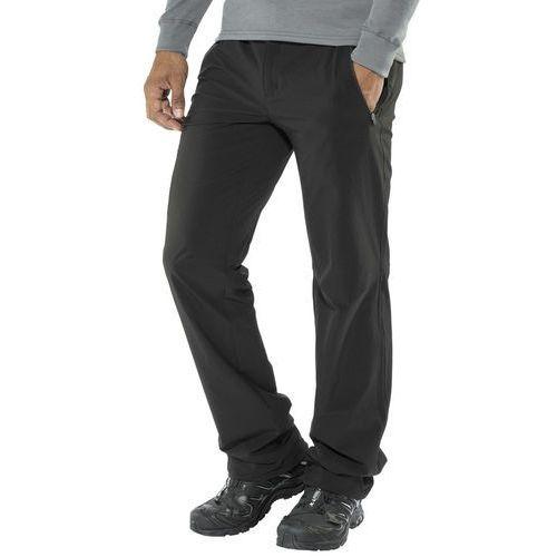 xert stretch ii spodnie długie mężczyźni czarny 54 2018 spodnie softshell marki Regatta