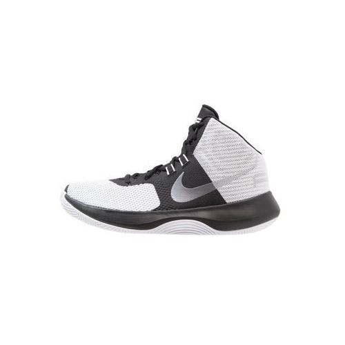 Nike Performance AIR PRECISION Obuwie do koszykówki white/metallic cool grey/black/pure platinum, 898455