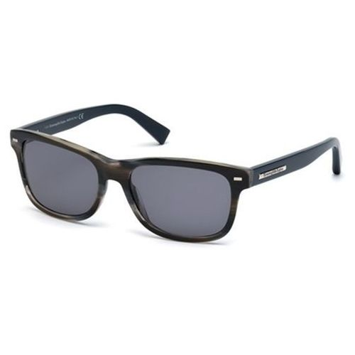 Okulary słoneczne ez0001 with clip-on 64v marki Ermenegildo zegna