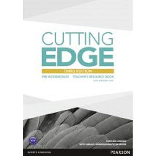 Cutting Edgde pre-intermediate Teacher's resource book + CD (9781447936930)
