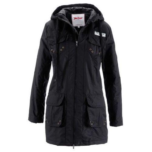 Bonprix Lekko watowana kurtka  czarny