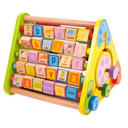Bigjigs Toys Aktywny trójkąt z językiem angielskim