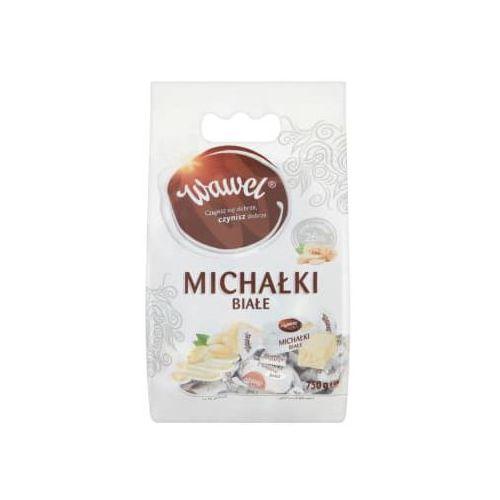 Cukierki w czekoladzie michałki białe marki Wawel