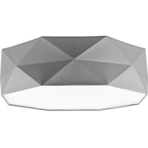 Plafon lampa sufitowa TK Lighting Kantoor 4x60W E27 szary 1566 (5901780515669)
