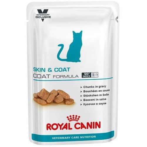 cat skin&coat 100g marki Royal canin vet