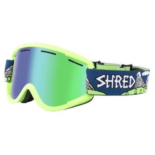 Shred Gogle narciarskie, snowboardowe nastify needmoresnow cbl/plasma s3