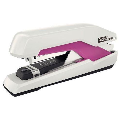 Zszywacz Rapid Supreme Omnipress SO60 50-54 biało-różowy