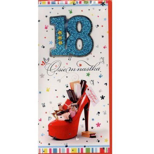 Karnet 18-ste urodziny - MIX DL-D (5904741035091)