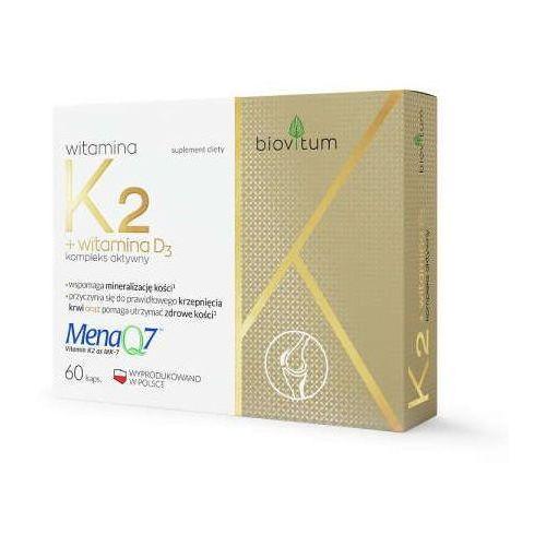 Kapsułki Biovitum Witamina K2 + D3 x 30 kapsułek