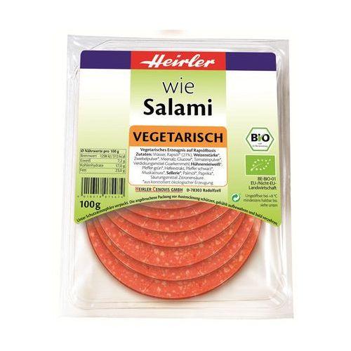 Produkt wegetariański salami bio 100 g - heirler