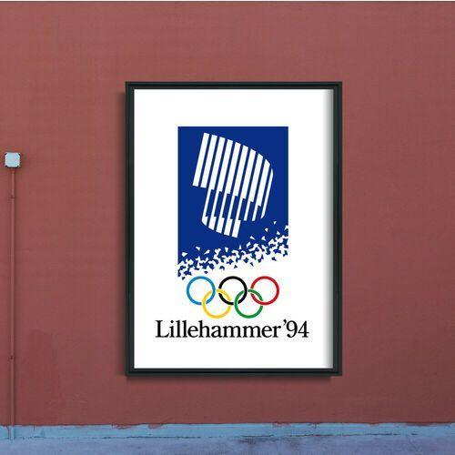 Plakat na ścianę Plakat na ścianę Zimowe Igrzyska Olimpijskie Lillehammer