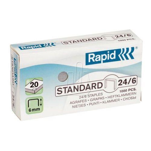 Zszywki standard 24/6 marki Rapid