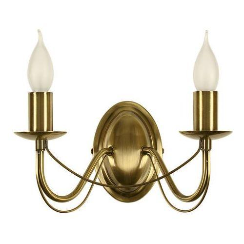 Oprawa lampa ścienna muza 2x40w e14 patyna 22-69156 marki Candellux