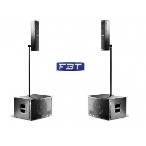 vertus cs1000 zestaw - kompaktowy zintegrowany system głośnikowy 600w+400w marki Fbt