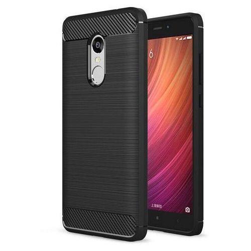 Tech-protect tpucarbon black | obudowa dla xiaomi redmi note 4/4x